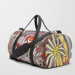 Clown fish and Sea anemones Duffle Bag