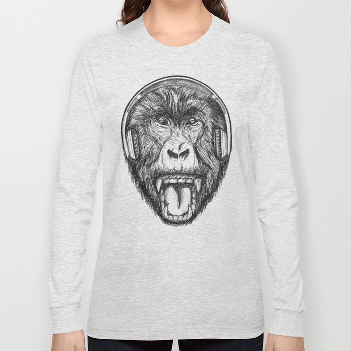 Scream And Shout Long Sleeve T-shirt