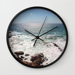 Sea and Sardinia Wall Clock