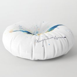 Wingardium Leviosa Floor Pillow