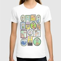 furry T-shirts featuring Furry Foodies by The Dapper Jackalope