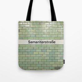 Berlin U-Bahn Memories - Samariterstraße Tote Bag