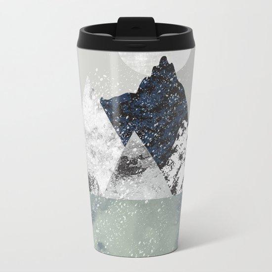 Winter Metal Travel Mug