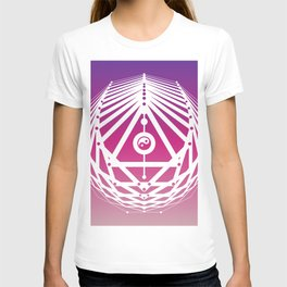 Radiant Abundance (warm purple-white) T-shirt