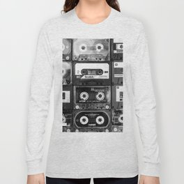 Something Nostalgic - black and white #decor #society6 #buyart Long Sleeve T-shirt