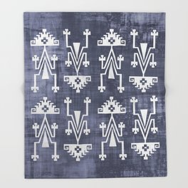 Chilean Tribal Throw Blanket