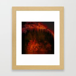 Cave 02 / Golden Fantasy in Palace / wonderful world 07-11-16 Framed Art Print