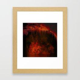 Cave 02 / Golden Fantasy in Palace / wonderful world 07-11-16 Framed Art Print