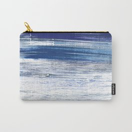 Indigo abstract watercolor Carry-All Pouch