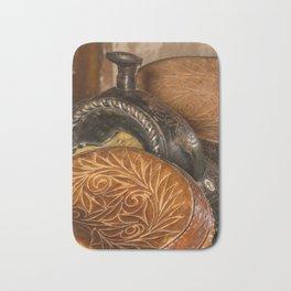 Saddles Bath Mat