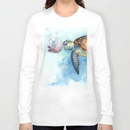 Turtle Noms Long Sleeve T-shirt