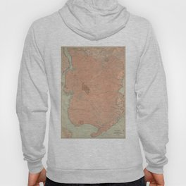 Vintage Map of Brooklyn NY (1902) Hoody