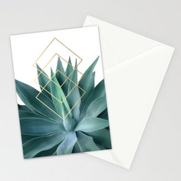 Agave geometrics Stationery Cards