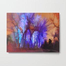 Fairy Maple Magic Trees  Metal Print
