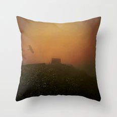 Mystical and misty Throw Pillow