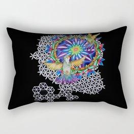 Breathe and Be Rectangular Pillow