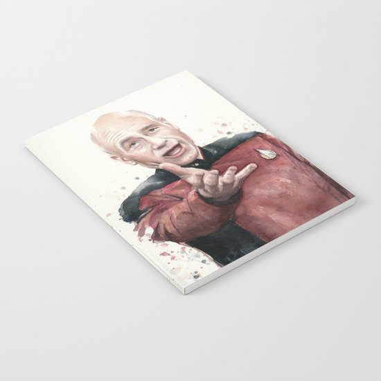 Annoyed Picard Meme Notebook