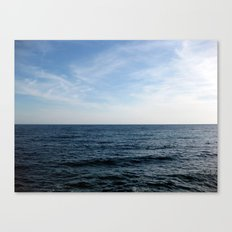 Mediterranean Sea on the Côte d'Azur French Rivera Canvas Print