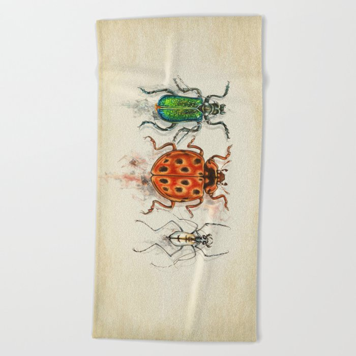 INSECTs Beach Towel