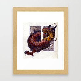 Air Elemental Framed Art Print