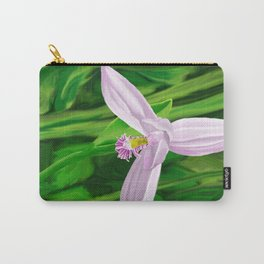 Rose Pogonia Orchid Carry-All Pouch