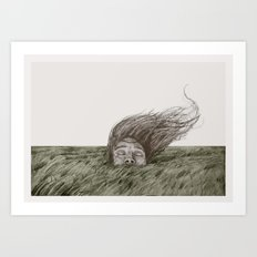 Wassshhh Through Me Art Print