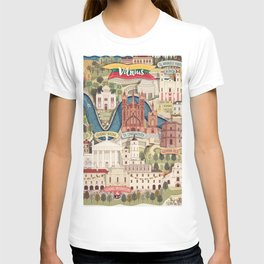 Vilnius, the capital city of Lithuania T-shirt