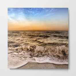 Sunrise In Naples Florida Metal Print