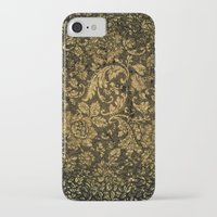 decorative iPhone & iPod Cases featuring Decorative damask by nicky2342