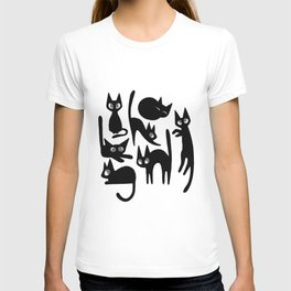 Moods of a Black Cat T-shirt