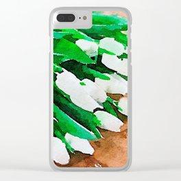 aprilshowers-58 Clear iPhone Case