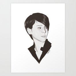 Sara Quin Art Print