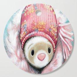 Winter Princess Cutting Board
