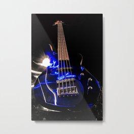 Turn up the bass  Metal Print