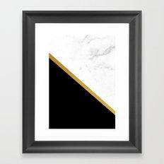 marmor Framed Art Print