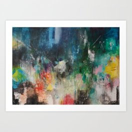 Metropolis Eight Art Print