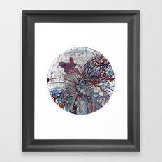 Superman, Damn Fool pt. 47 Framed Art Print