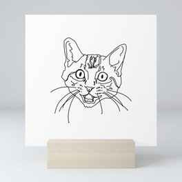 That Face My Cat Makes Mini Art Print
