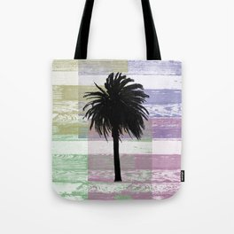 Palm and colors Tote Bag