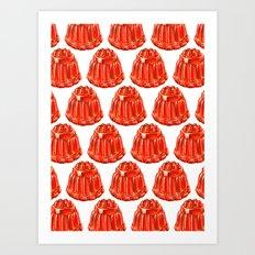 Jello Pattern Art Print