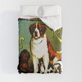 New England Dog Show 1890 Duvet Cover