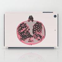 pomegranate iPad Cases featuring Pomegranate by Georgiana Paraschiv