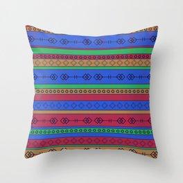 Southwest Bonanza  Throw Pillow