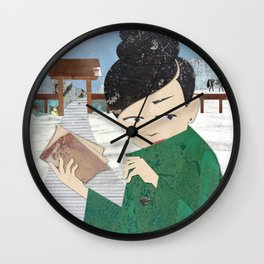 The Book Wall Clock