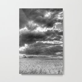 The Impending Storm Metal Print