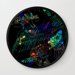 Anatomical Quetzalcoatl 2 Wall Clock