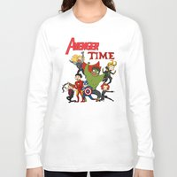 avenger Long Sleeve T-shirts featuring Avenger Time! by ArtisticCole