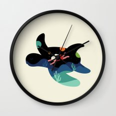 Ocean Roaming Wall Clock