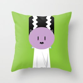 My Little Bride of Frankenstein Throw Pillow