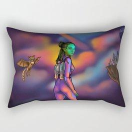 Jetpack Rectangular Pillow